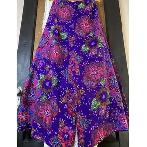 70's Day glow Psychedelic Palazzo pants